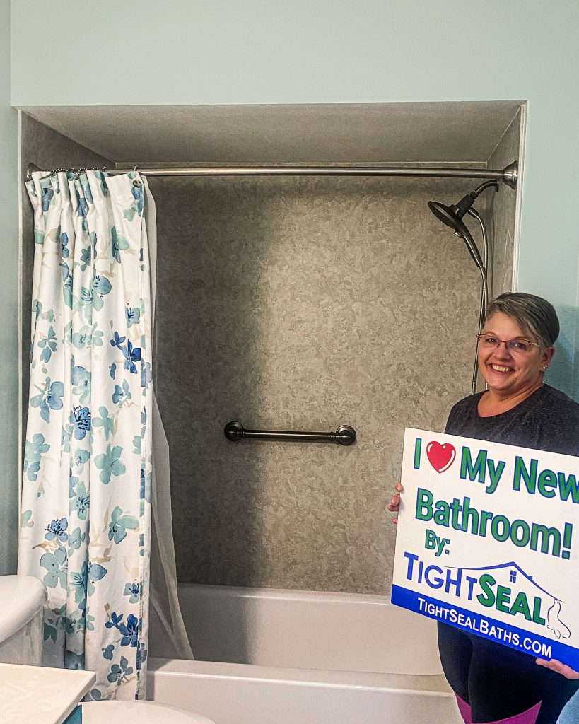 Tightseal is a bathroom remodeler offering bathtub replacement and bathroom remodel services in west bend