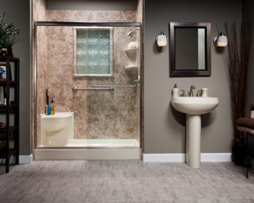 Biscuit_Shower_w_Corner_Shower_Seat_River_Rock_Smooth_Walls_w_Window_Kit_LR_bci-584